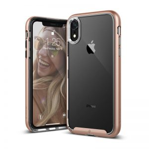 Caseology Skyfall Case - Etui iPhone XR (Gold)
