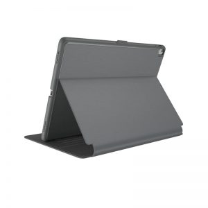 "Speck Balance Folio - Etui iPad 9.7"" (2018/2017) / iPad Pro 9.7"" / iPad Air 2 / iPad Air w/Magnet & Stand up (Stormy Grey/Charcoal Grey)"