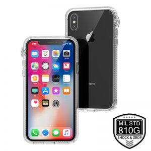Catalyst Impact Protection Case - Pancerne etui iPhone Xs / X (Clear)