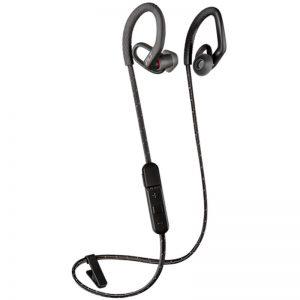 Plantronics BackBeat FIT 350 - Bezprzewodowe słuchawki sportowe obsługujące do dwóch urządzeń jednocześnie (czarny/szary)