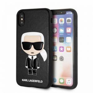 Karl Lagerfeld Iconic Karl Embossed - Etui iPhone Xs Max (Black)