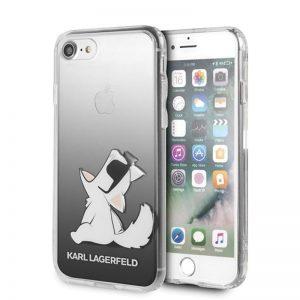 Karl Lagerfeld Choupette Fun Sunglasses - Etui iPhone SE 2020 / 8 / 7 (Black)