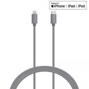 Kanex DuraBraid - Kabel połączeniowy USB-C (Power Delivery) na Lightning MFi 1