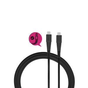 Momax Tough link - Kabel połączeniowy USB-C do USB-C