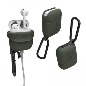 Catalyst Waterproof Case - Etui wodoszczelne dla Apple AirPods 1 & 2 generacji (Army Green)