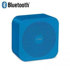 PURO Handy Speaker ? Przenośny głośnik bezprzewodowy Bluetooth (niebieski)