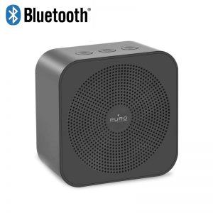 PURO Handy Speaker ? Przenośny głośnik bezprzewodowy Bluetooth (szary)