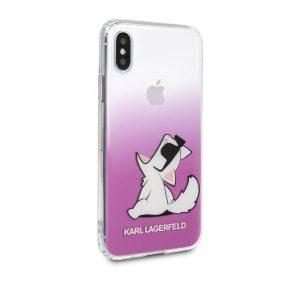 Karl Lagerfeld Choupette Fun Sunglasses - Etui iPhone Xs / X (Pink)