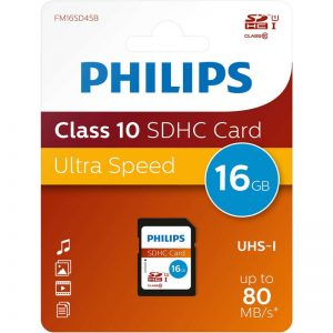 Philips Karta Pamięci SDHC 16 GB Class 10 UHS-I U1