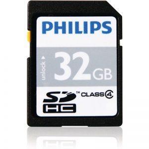 Philips Karta Pamięci SDHC 32 GB Class 4