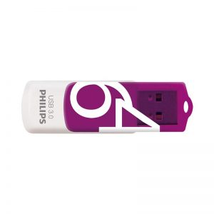 Philips Pendrive USB 3.0 64 GB - Vivid Edition (fioletowy)