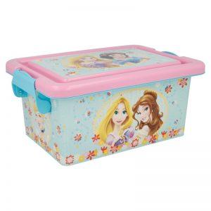 Princess - Pojemnik / organizer na zabawki 3.7 L