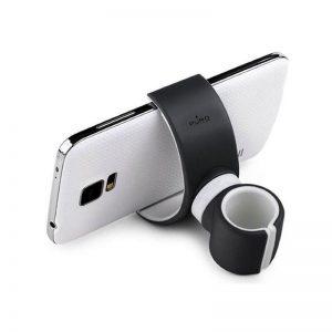 PURO White 360-degree Universal Holder - Uniwersalny uchwyt samochodowy / rowerowy (Czarny)