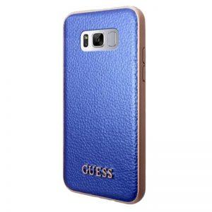 Guess Iridescent - Etui Samsung Galaxy S8 + (niebieski)