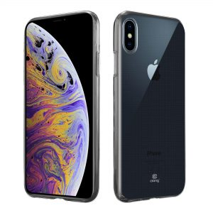 Crong Crystal Slim Cover - Etui iPhone Xs Max (przezroczysty)