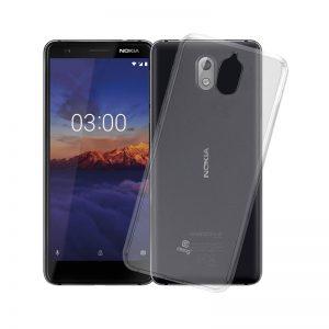 Crong Crystal Slim Cover - Etui Nokia 3.1 (przeroczysty)