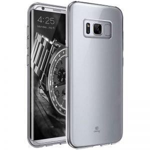 Crong Crystal Slim Cover - Etui Samsung Galaxy S8 (przezroczysty)