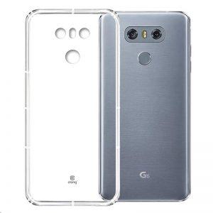 Crong Crystal Slim Cover - Etui LG G6 (przezroczysty)