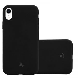 Crong Soft Skin Cover - Etui iPhone XR (czarny)
