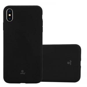 Crong Soft Skin Cover - Etui iPhone Xs Max (czarny)