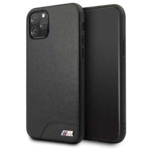 BMW Smooth PU Leather - Etui iPhone 11 Pro (czarny)