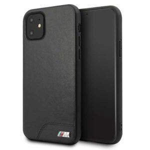 BMW Smooth PU Leather - Etui iPhone 11 (czarny)