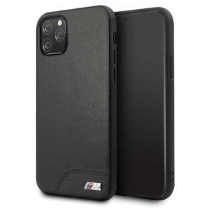 BMW Smooth PU Leather - Etui iPhone 11 Pro Max (czarny)