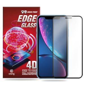 Crong Edge Glass - Szkło full glue na cały ekran iPhone 11 / iPhone XR