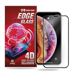 Crong Edge Glass - Szkło full glue na cały ekran iPhone 11 Pro Max / iPhone Xs Max
