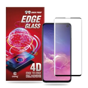 Crong Edge Glass - Szkło full glue na cały ekran Samsung Galaxy S10e