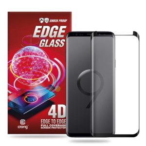 Crong Edge Glass - Szkło full glue na cały ekran Samsung Galaxy S9