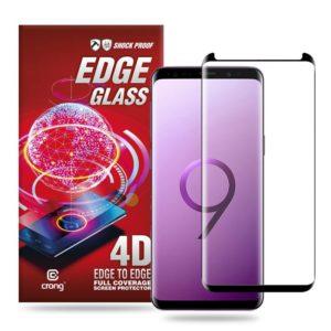 Crong Edge Glass - Szkło full glue na cały ekran Samsung Galaxy S9+