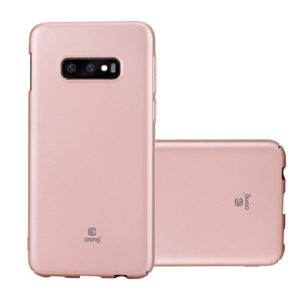 Crong Smooth Skin - Etui Samsung Galaxy S10e (Rose Gold)