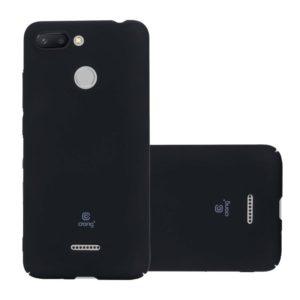 Crong Smooth Skin - Etui Xiaomi Redmi 6A (czarny)