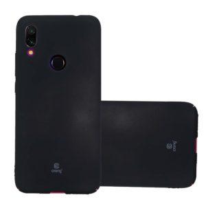Crong Smooth Skin - Etui Xiaomi Redmi 7 (czarny)