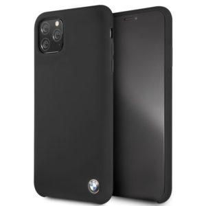 BMW Silicone Hard Case - Etui iPhone 11 Pro Max (czarny)