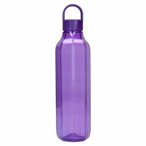 BUILT Octagon - Butelka na wodę z tritanu 700 ml (Purple)