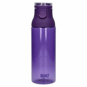 BUILT Flip Top - Butelka na wodę z tritanu 740 ml (Purple)