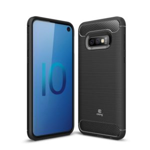 Crong Soft Armour Cover - Etui Samsung Galaxy S10e (czarny)