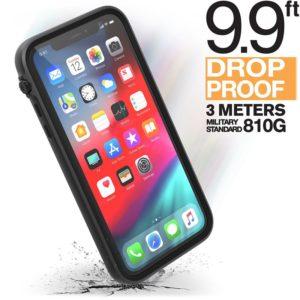 Catalyst Impact Protection Case - Pancerne etui + smyczkai iPhone 11 (Stealth Black)