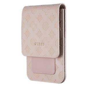 Guess 4G Peony Wallet Bag - Torba z przegrodą na smartfona (Light Pink)