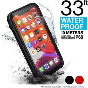 Catalyst Waterproof Case - Etui wodoszczelne (IP-68 do 10 m głębokości) iPhone 11 Pro (Stealth Black)