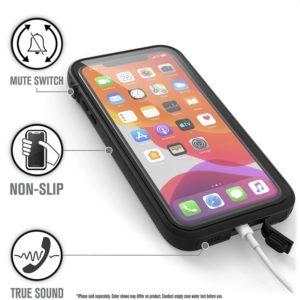 Catalyst Waterproof Case - Etui wodoszczelne (IP-68 do 10 m głębokości) iPhone 11 Pro Max (Stealth Black)