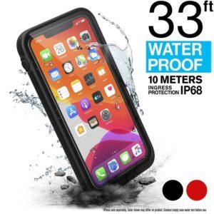 Catalyst Waterproof Case - Etui wodoszczelne (IP-68 do 10 m głębokości) iPhone 11 (Stealth Black)