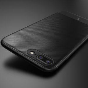 Crong Prestige Carbon Cover - Etui iPhone 8 / 7 (czarny)