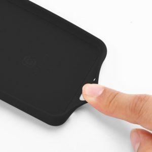 Crong Color Cover - Etui Samsung Galaxy A50 / A50s (czarny)