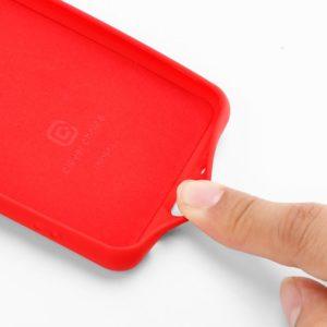 Crong Color Cover - Etui Samsung Galaxy A50 / A50s (czerwony)