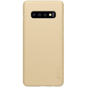 Nillkin Super Frosted Shield - Etui Samsung Galaxy S10+ (Golden)