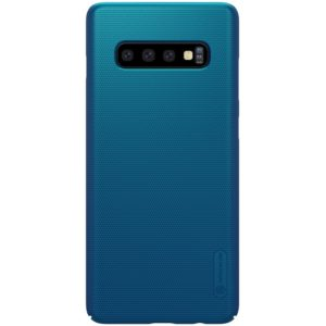 Nillkin Super Frosted Shield - Etui Samsung Galaxy S10+ (Peacock Blue)