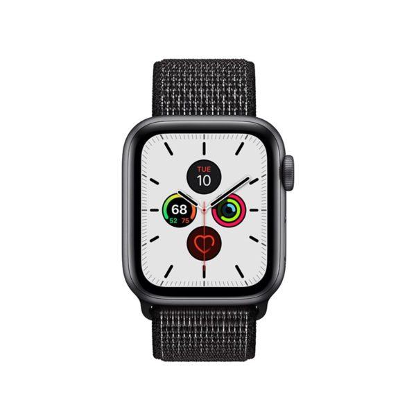 Crong Reflex Band - Pasek sportowy Apple Watch 38/40 mm (czarny)